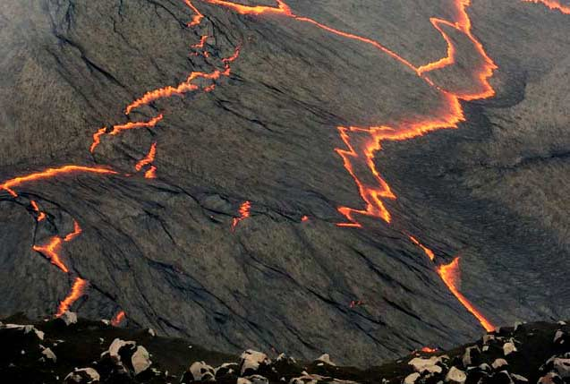 Circle Of Fire Plus Waterfalls Volcano Helicopter Tour From Hilo  Hawaii Vol