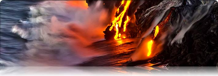 Hawaiian Volcano Blog – Current Lava & Flowing Into the Ocean