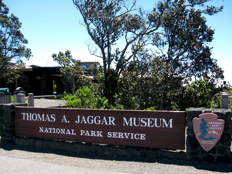 Jaggar Museum on Big Island of Hawaii