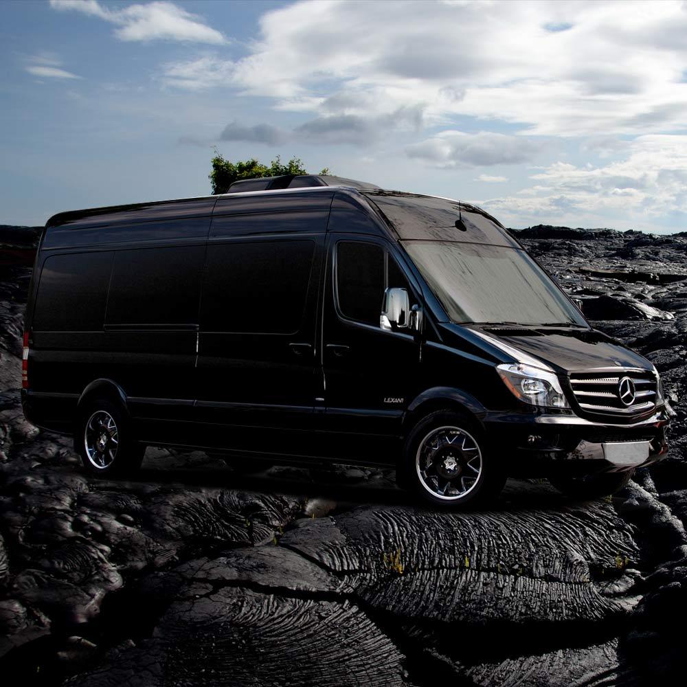 Mercedes-14-Passenger-Van