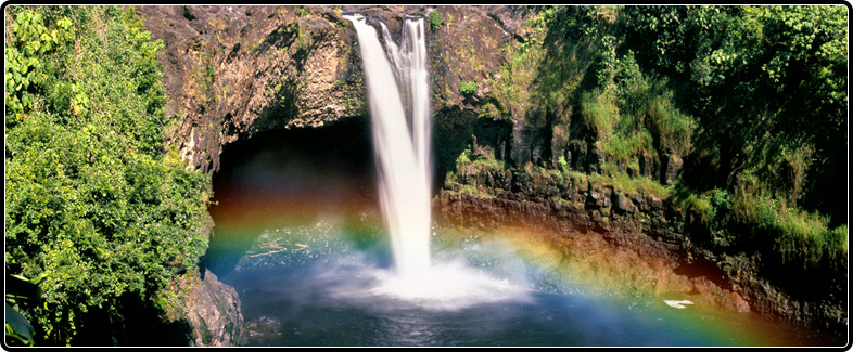 Rainbow Falls BigIsland of Hawaii