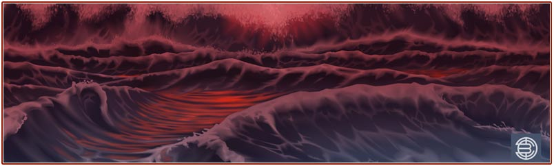Lava Goddess Ocean