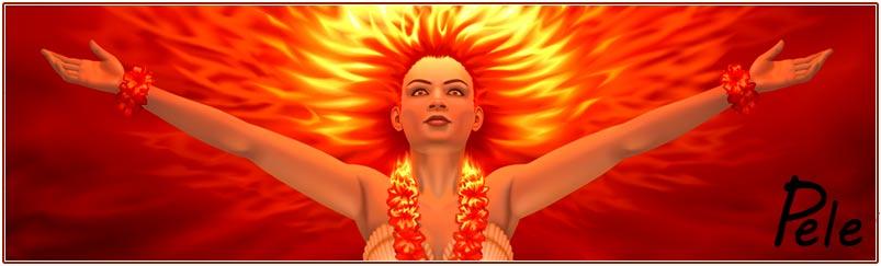 Pele Lava Goddess