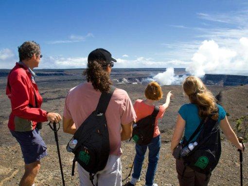 Big Island Volcano Viewing Area