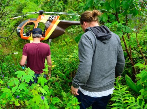 Hawaii Helicopter Tours Open Doors