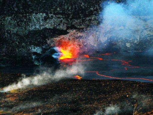 Twilight Volcano Lava
