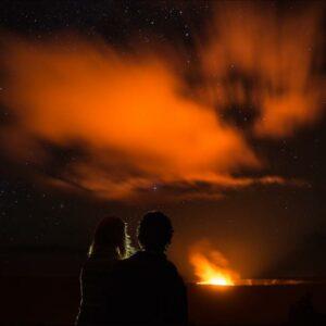 Twilight Volcano