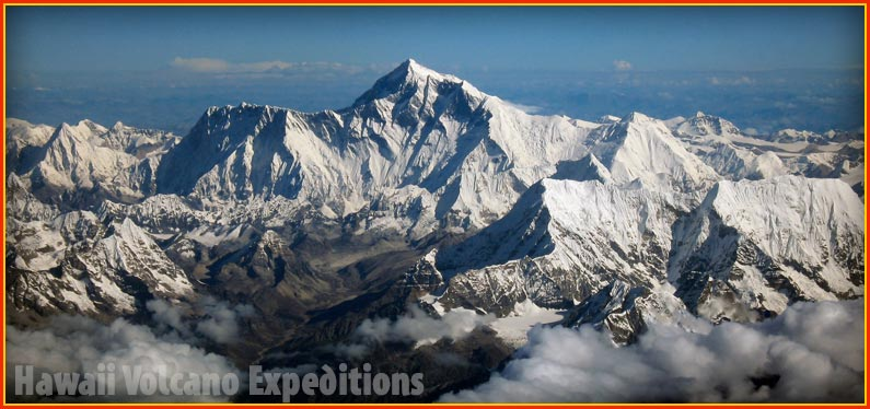Everest is the tallest mountain on Earth